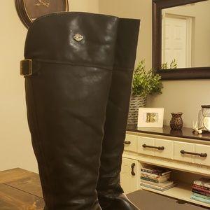 Harley Davidson knee high boots